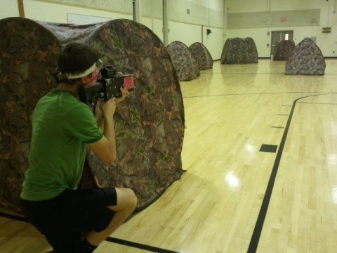 mobile laser tag that comes to you